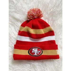 Fleece Lined SF 49ers Beanie